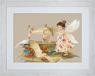 click here to view larger image of Fairy Needlewoman, The (counted cross stitch kit)