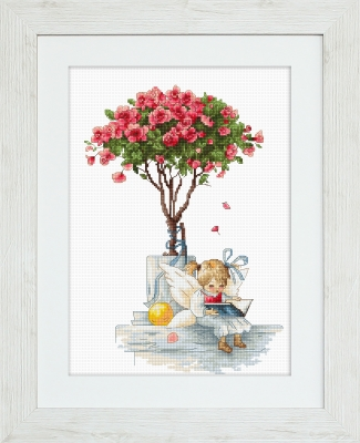 click here to view larger image of Trandafiri (counted cross stitch kit)