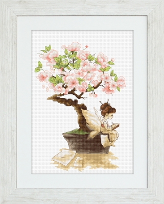 click here to view larger image of Sakura, The (counted cross stitch kit)