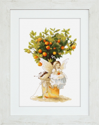 click here to view larger image of Tangerine, The (counted cross stitch kit)