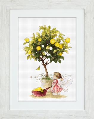 click here to view larger image of Lemons (counted cross stitch kit)