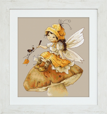 click here to view larger image of Fairy, The (counted cross stitch kit)