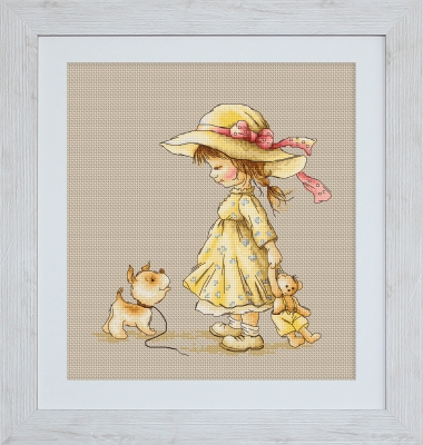 click here to view larger image of Come With Me (counted cross stitch kit)