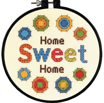 click here to view larger image of Sweet Home - Learn a Craft (counted cross stitch kit)