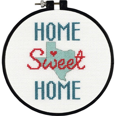 click here to view larger image of State Love - Learn a Craft (counted cross stitch kit)