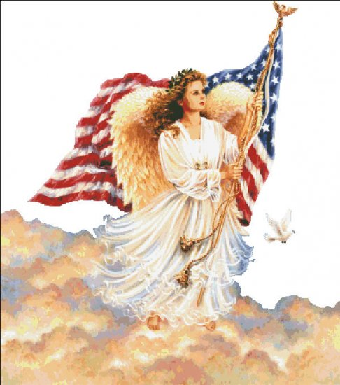 click here to view larger image of American Angel - No Background (chart)