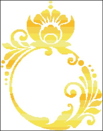 Golden Ring Silhouette - click here for more details about chart