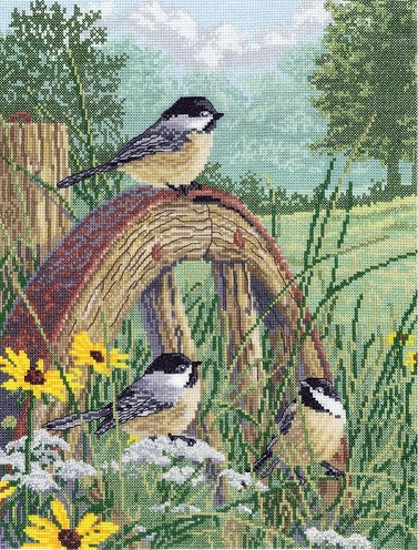 click here to view larger image of Meadows Edge (counted cross stitch kit)