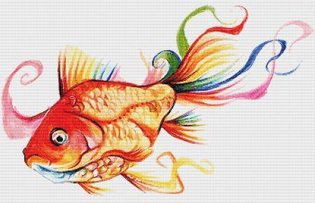 click here to view larger image of Rainbow Goldfish II (chart)