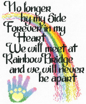 click here to view larger image of Lets Cross The Rainbow Bridge (chart)
