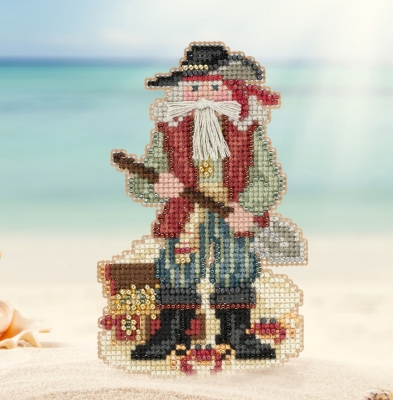 click here to view larger image of Barbados Santa (counted cross stitch kit)