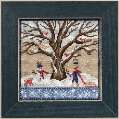 click here to view larger image of Winter Oak - Mighty Oak Series (counted cross stitch kit)