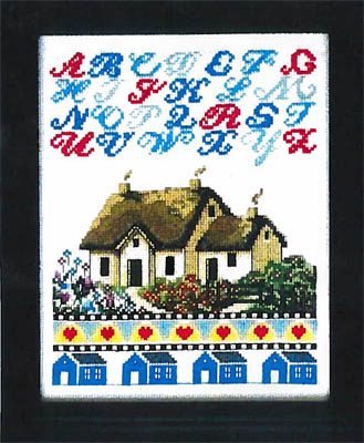 click here to view larger image of Cottage Sampler (chart)