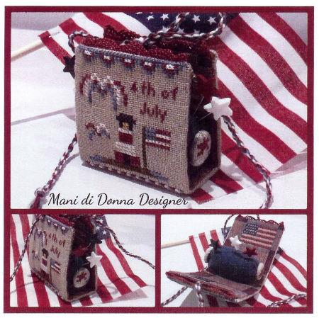 click here to view larger image of Independence Day Pincushion (chart)