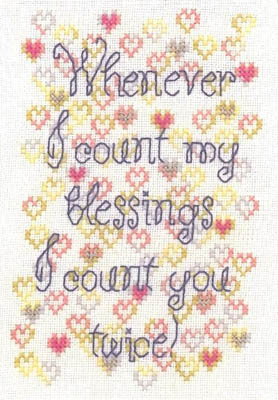 click here to view larger image of Count My Blessings (chart)