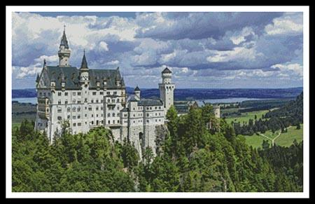 click here to view larger image of Newschwanstein Castle 2 (chart)