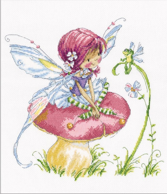 click here to view larger image of Forest Fairy (counted cross stitch kit)
