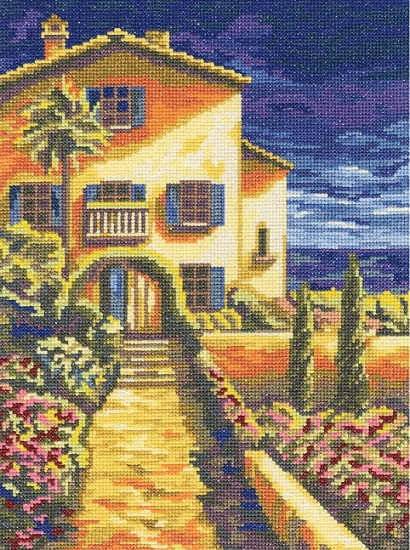 click here to view larger image of Riviera (counted cross stitch kit)