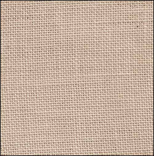 click here to view larger image of Creme Brulee 32ct Hand Dyed Linen (R and R Reproduction Linens)