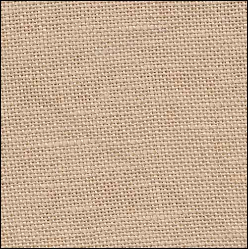 click here to view larger image of Ligonier Latte 32ct Hand Dyed Linen (R and R Reproduction Linens)