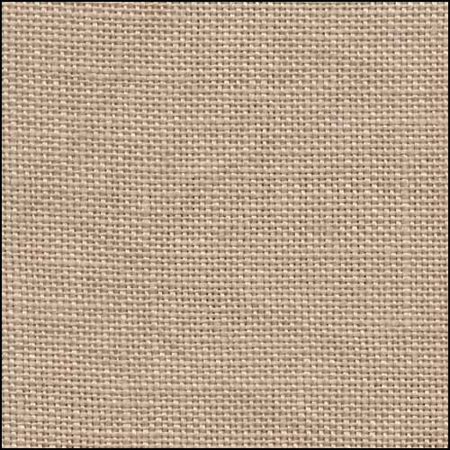 click here to view larger image of Ligonier Latte 36ct Hand Dyed Linen (R and R Reproduction Linens)