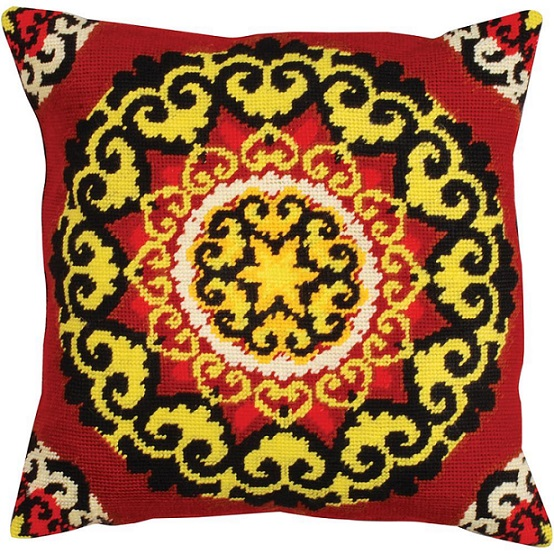 click here to view larger image of Medallion (needlepoint)