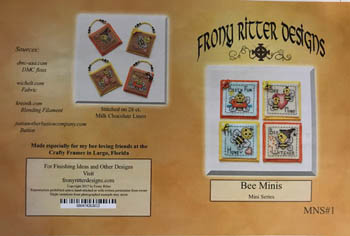 click here to view larger image of Bee Minis (chart)