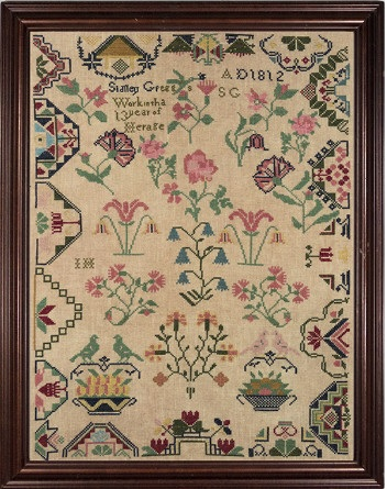 click here to view larger image of Sidney Gregg Reproduction Sampler (chart)