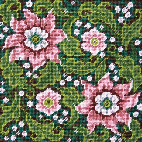 click here to view larger image of Artful Flowers (needlepoint)