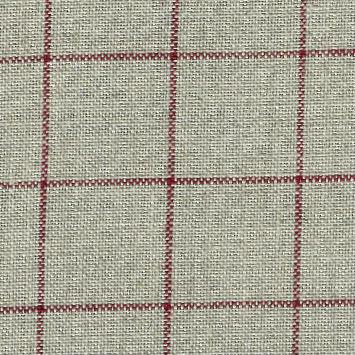 click here to view larger image of Belfast 32ct Carre Natural With Red Lines (Zweigart Belfast Linen 32ct)