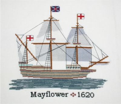click here to view larger image of Mayflower (counted cross stitch kit)