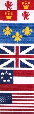 click here to view larger image of Five Flags Over Pensacola (counted cross stitch kit)