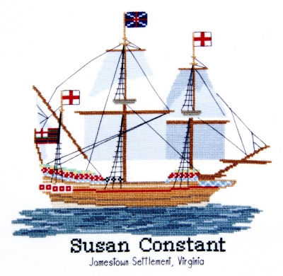click here to view larger image of Susan Constant (counted cross stitch kit)