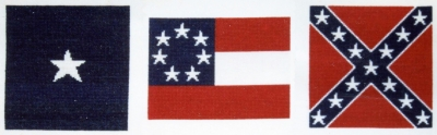 click here to view larger image of Flags Of The Confederacy (counted cross stitch kit)