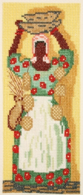 click here to view larger image of Sweet Grass Baskets (counted cross stitch kit)