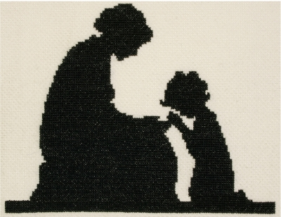 click here to view larger image of Evening Prayers (counted cross stitch kit)