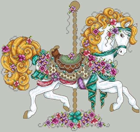 click here to view larger image of Carousel Horse (chart)
