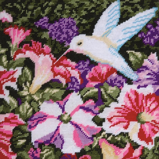 click here to view larger image of Hummingbird Needlepoint (needlepoint)