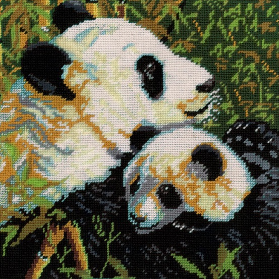 click here to view larger image of Pandas Needlepoint (needlepoint)