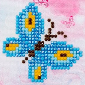 click here to view larger image of Butterfly Sparkle (Diamond Embroidery)