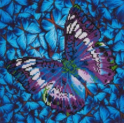 click here to view larger image of Flutter By Mauve (Diamond Embroidery)