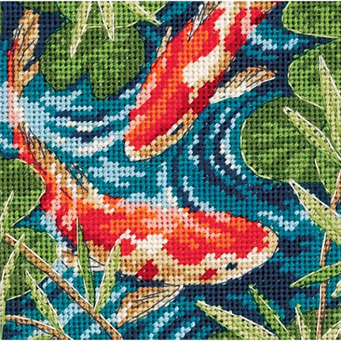 click here to view larger image of Koi Pond (needlepoint)