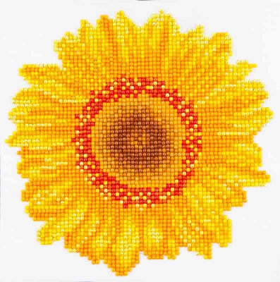 click here to view larger image of Happy Day Sunflower (Diamond Embroidery)