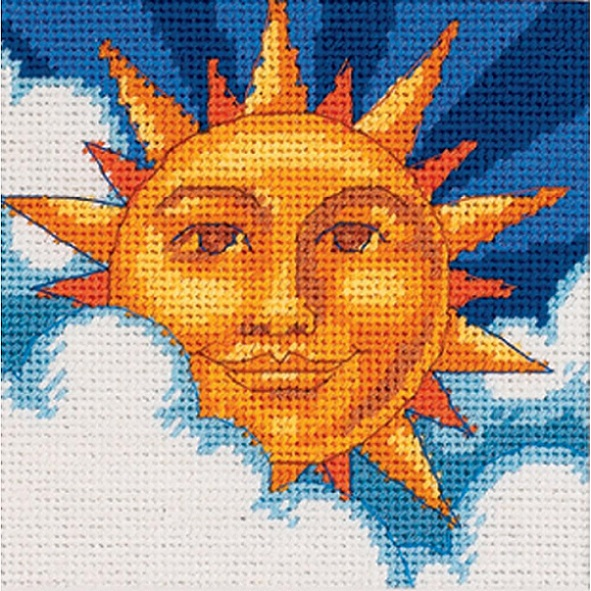 click here to view larger image of Celestial Sun (needlepoint)