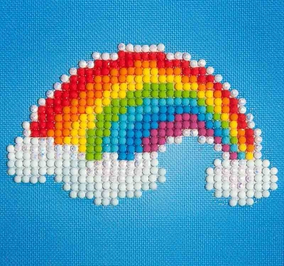 click here to view larger image of Ever Living Rainbow (Diamond Embroidery)