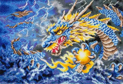 click here to view larger image of Mythical Dragon (Diamond Embroidery)