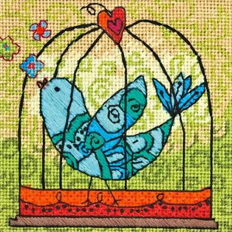 click here to view larger image of Birdie (needlepoint)