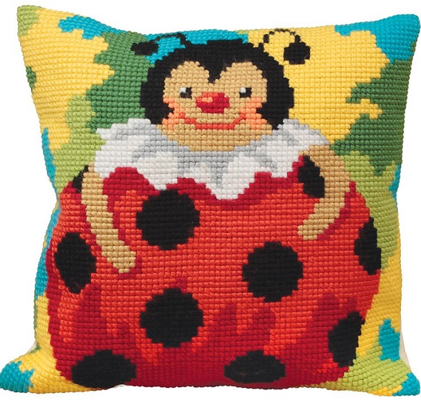 click here to view larger image of Colombine (needlepoint)