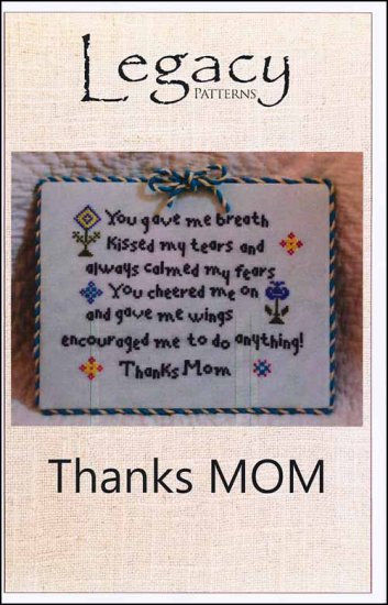 click here to view larger image of Thanks MOM (chart)