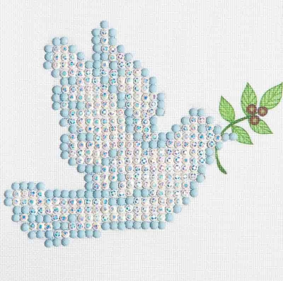 click here to view larger image of Dove Of Peace (Diamond Embroidery)